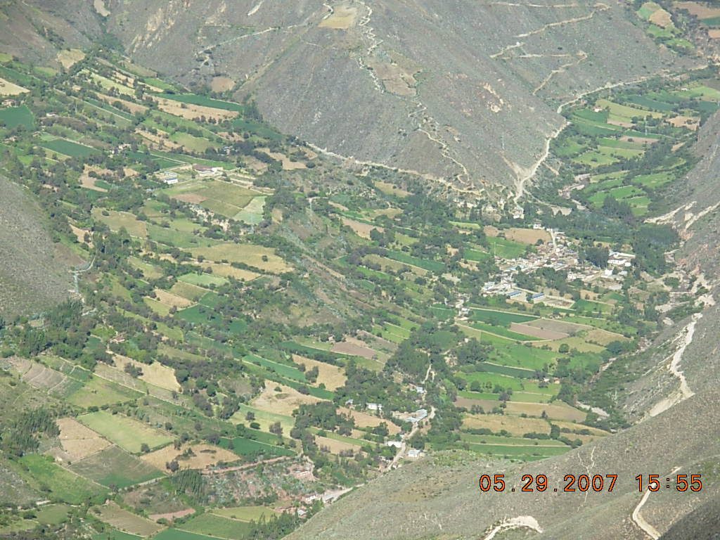 Huaylillas valle